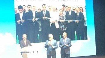 Altıntaş Güneş Enerji Tesisi Başbakan Yıldırım'ın Katıldığı Törenle Açıldı
